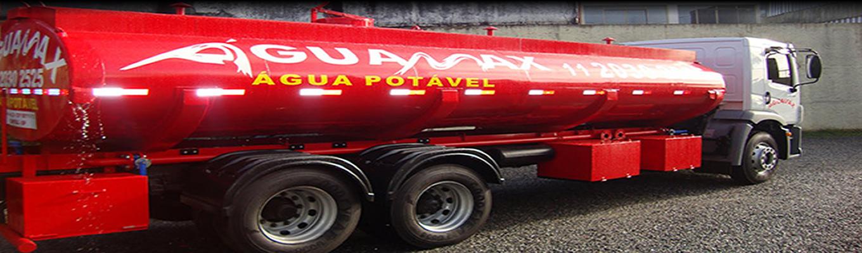 Caminhão pipa Águamax